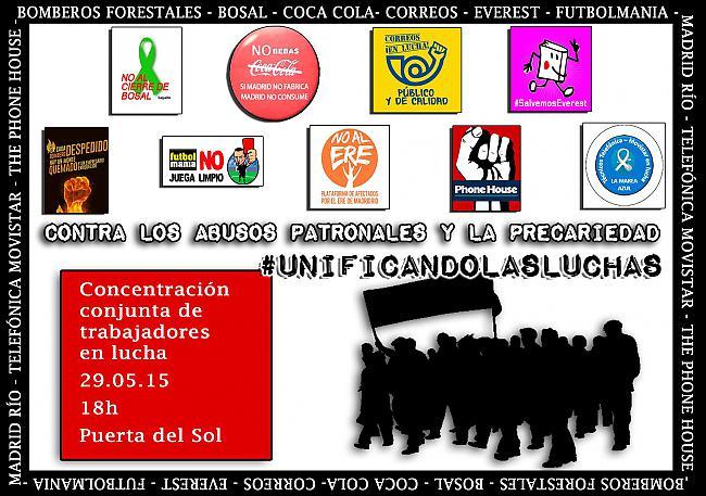 [Madrid] Concentración 29 de Mayo 18h :